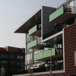 Balkons, galerij en vides